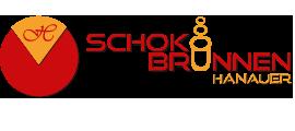 Schokobrunnen Hanauer logo